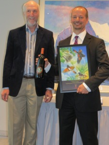 I was away a lot in May including attending International Migratory Bird Day reception at Canadian Embassy in Washington